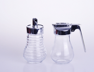 Kitchen Spice Glass Bottle With Handle