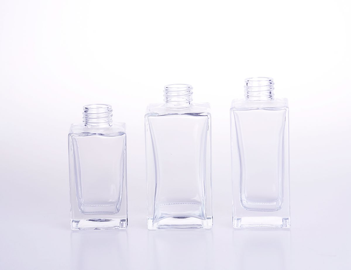Rectangle Glass Reed Diffuser Bottle